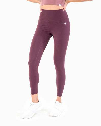 Naked Leggings - Wine Red