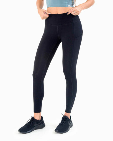 Naked Pocket Leggings - Black
