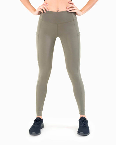 Naked Pocket Leggings - Khaki
