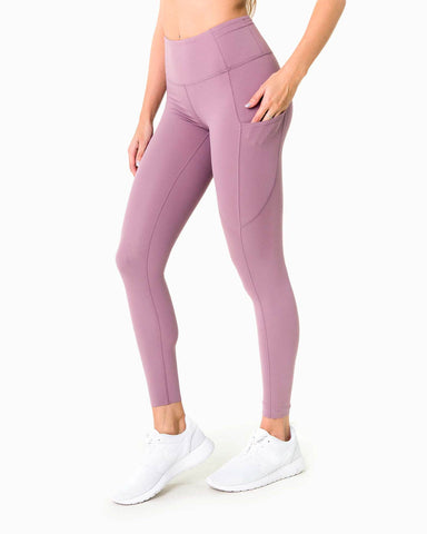 Naked Pocket Leggings - Lilac