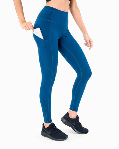 Naked Pocket Leggings - Navy Blue