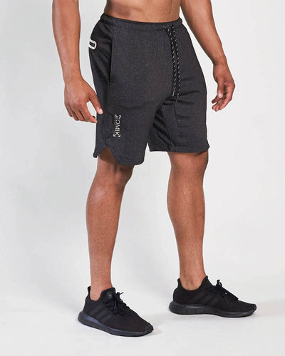 Poly Tech Training Shorts - Heather Black