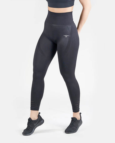 Power Seamless High Waisted Leggings - Black