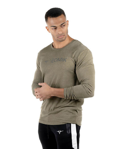 Soft Tech Long Sleeve - Light Olive
