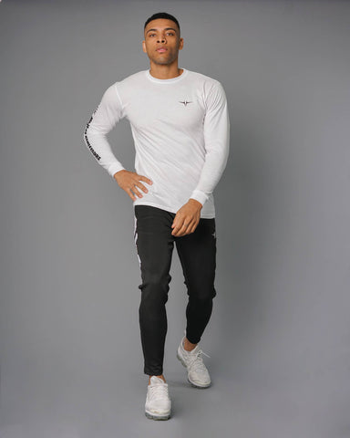 Statement Casual Long Sleeve - White