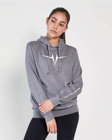 Vision Hoodie (W) - Dark Heather