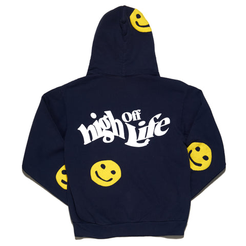 HOL2104 - GIVE THANKS HOODIE (BLUE)