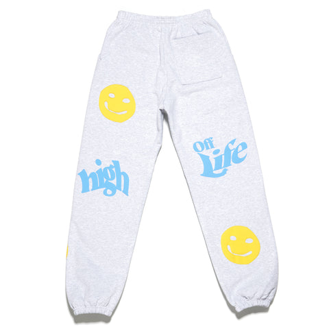 HOL2204 - GIVE THANKS SWEATPANTS (GREY)