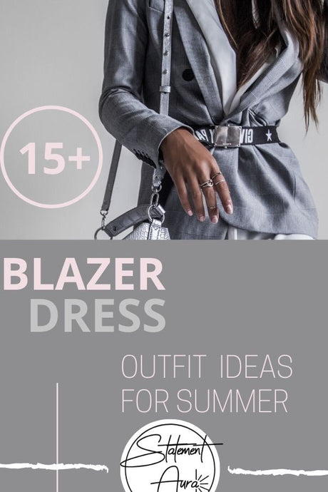 15+ BLAZER DRESS OUTFIT IDEAS FOR SUMMER . HOW TO CREATE A TUXEDO DRESS OUTFIT WITH YOUR FAVORITE BLAZER