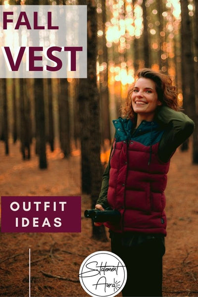 15+ Chic Ways to Wear a Vest  | How to wear a Vest with your Fall outfits.