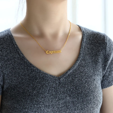 It's not you, it's your zodiac sign [Necklace]
