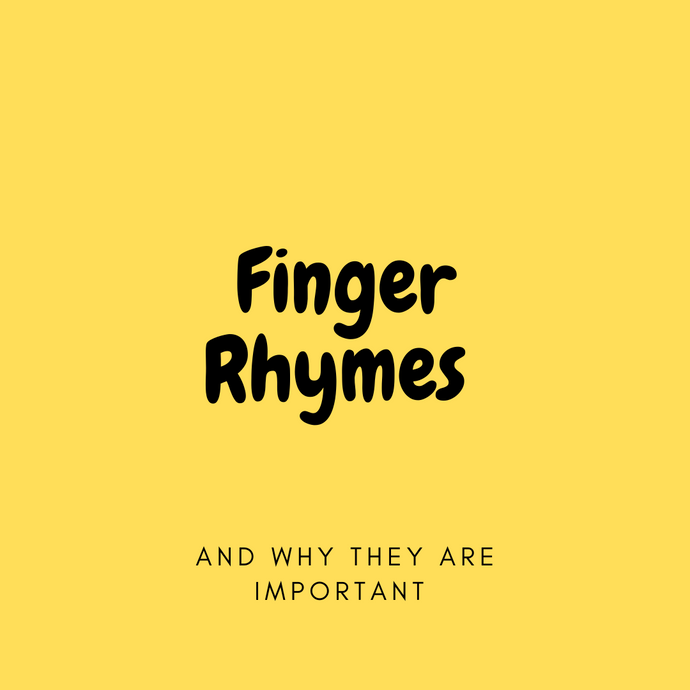 Finger Rhymes And Why They Are Important