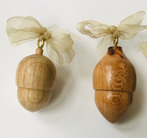 Wooden Acorn Set - The Sidlaw Hare