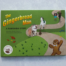 Load image into Gallery viewer, Gingerbread Man Book and Finger Puppet Set - The Sidlaw Hare