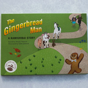 Gingerbread Man Book and Finger Puppet Set - The Sidlaw Hare