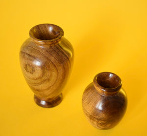 Wooden Vases - The Sidlaw Hare