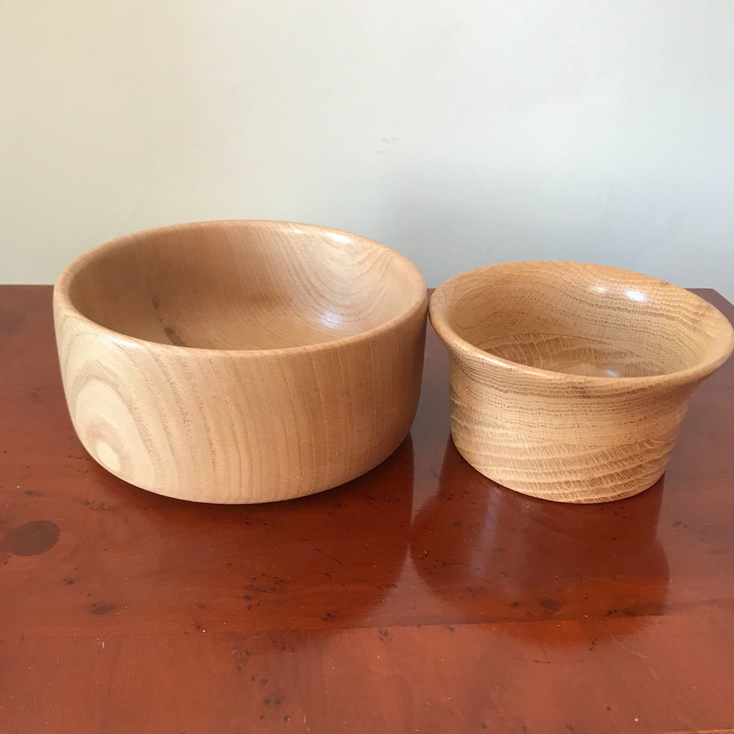 Two Wooden Bowls - The Sidlaw Hare