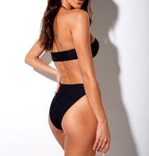 Load image into Gallery viewer, Halter One Piece High Cut Bathing Suit
