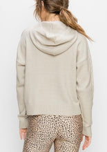 Load image into Gallery viewer, Hooded Cable Knit Sweater