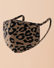 Load image into Gallery viewer, Leopard Stretch Washable Mask