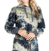 Load image into Gallery viewer, Inside Out Tie Dye Pull Over Hoodie Sweatshirt