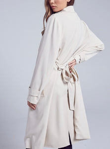 Self Belt Trench Coat