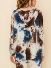 Load image into Gallery viewer, Stretch Tie Dye Hoodie