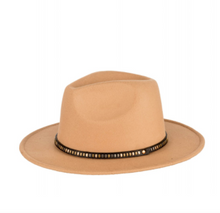 Load image into Gallery viewer, Panama Stud Trim Hat