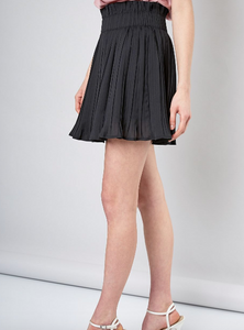 Micro Pleat Mini Skort