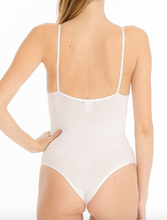 Load image into Gallery viewer, V Neck Thong Bodysuit