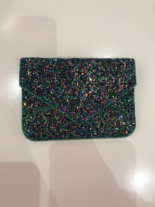 Glitter Envelope Fold Card Case