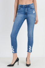 Load image into Gallery viewer, Washed Distressed Fray High Waist Jeans