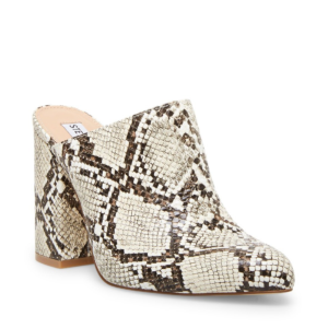 Snake 3.75in Block Heel Mule