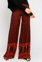 Load image into Gallery viewer, Print Wide Leg Pants