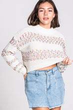 Load image into Gallery viewer, Crew Neck Confetti Sweater