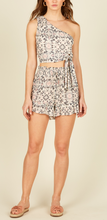 Load image into Gallery viewer, Flounce Hem Smock Waist High Waist Short