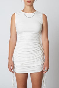 Gathered Tank Mini Dress