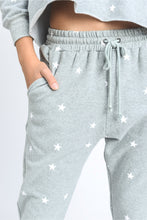 Load image into Gallery viewer, Star Print Drawstring Joggers