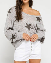 Load image into Gallery viewer, Knit Star Long Sleeve Sweater