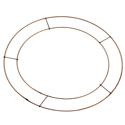 12 inch Flat Wreath Wire Frame (Pack of 20)