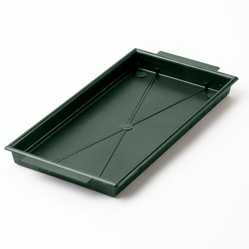 Green Plastic Single Brick Floral Tray x 25
