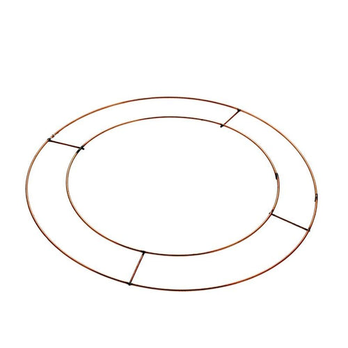8 inch Flat Wreath Wire Frame (pack of 20)