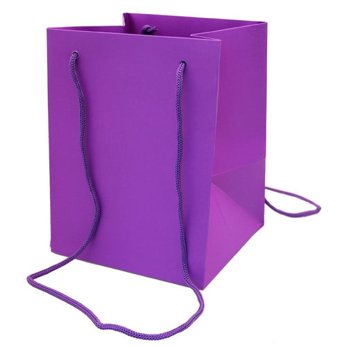 Pack of 10 - Purple Hand Tie Bags