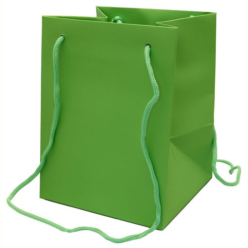 Pack of 10 - Green Hand Tie Bags