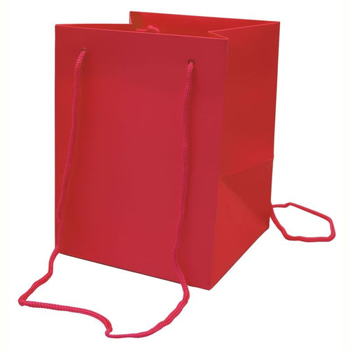 Pack of 10 - Red Hand Tie Bags