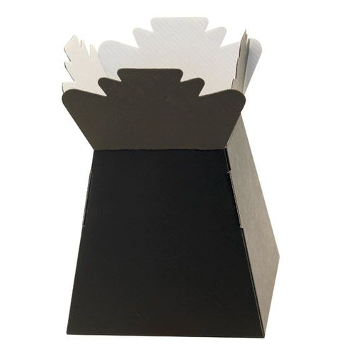 30 x Black Living Vase - Aqua Box