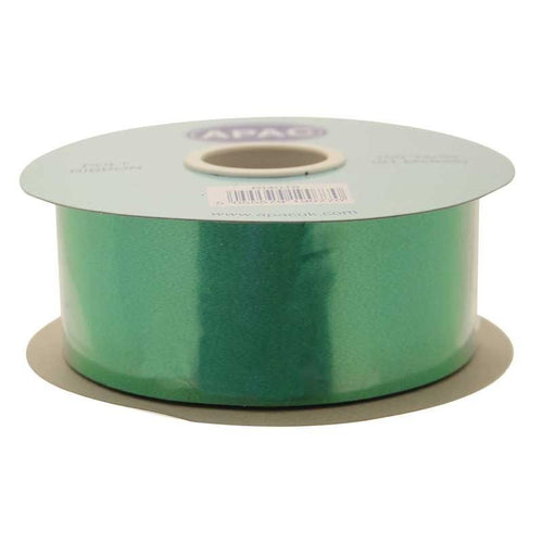 Emerald Green Polypropylene Ribbon 100 Yards (91m)