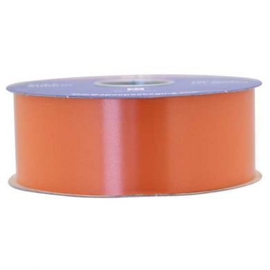 Orange Polypropylene Ribbon 100 Yards (91m)