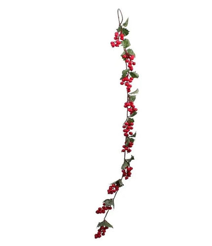 3ft Berry Garland - Red Christmas Xmas Decoration