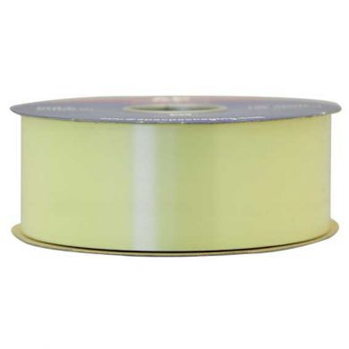 Pale Yellow Polypropylene Ribbon 100 Yards (91m)